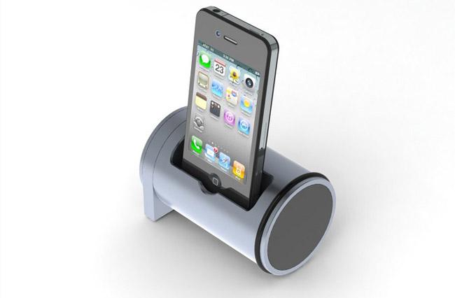 اسپیکر Kickstarter، اسپیکر استوانه ای ویژه گوشی iPhone