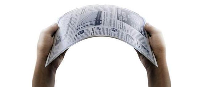 شرکت LG کاغذ الکترونیک انعطاف پذیر وارد بازار خواهد کرد