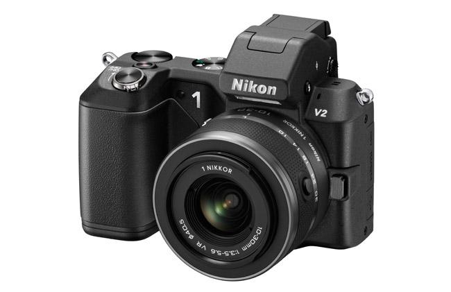 دوربین دیجیتال 14.2 مگاپیکسلی Nikon 1 V2 رونمایی شد