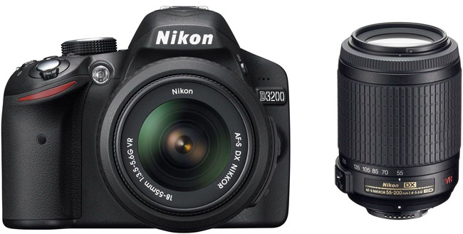 شرکت نيکون از دوربین عکاسی D3200 رونمایی کرد