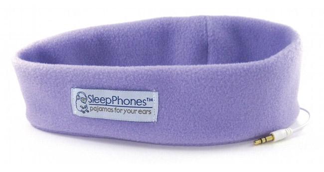 ایده SleepPhones هدبندی برای گوش دادن به موسیقی