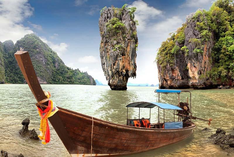 آشنایی با جزیره جیمز باند تایلند